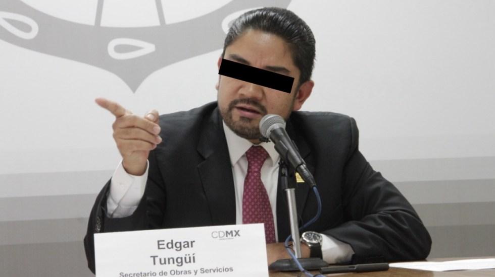 Vinculan a proceso a Edgar Tungüí, excomisionado de Reconstrucción en CDMX - Edgar Tungüí exfuncionario Ciudad de México