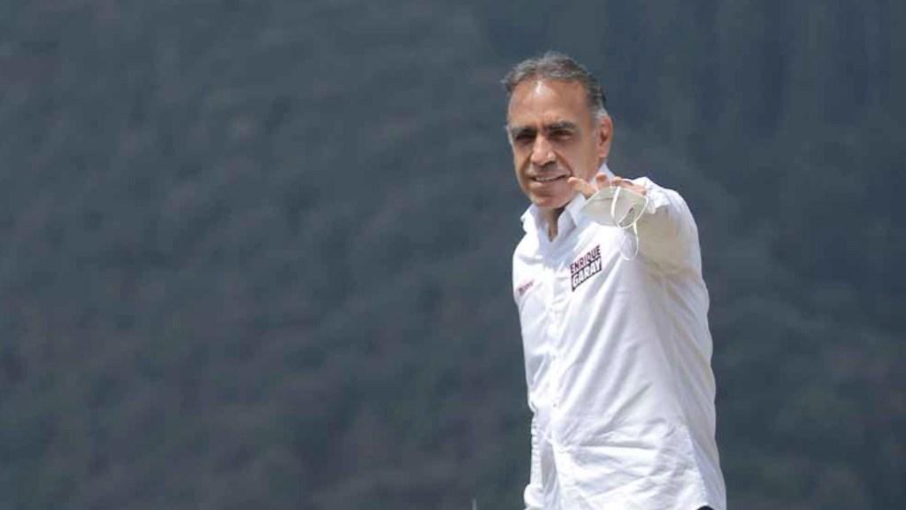 PAN denuncia al candidato Enrique Garay por presunta defraudación millonaria de 2017 - Enrique Garay. Foto de @quiquegaray