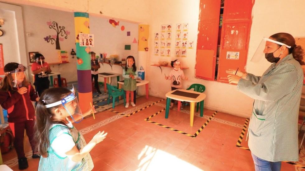 Guanajuato inicia programa piloto de regreso a clases - Guanajuato inicia programa piloto de regreso a clases . Foto de EFE