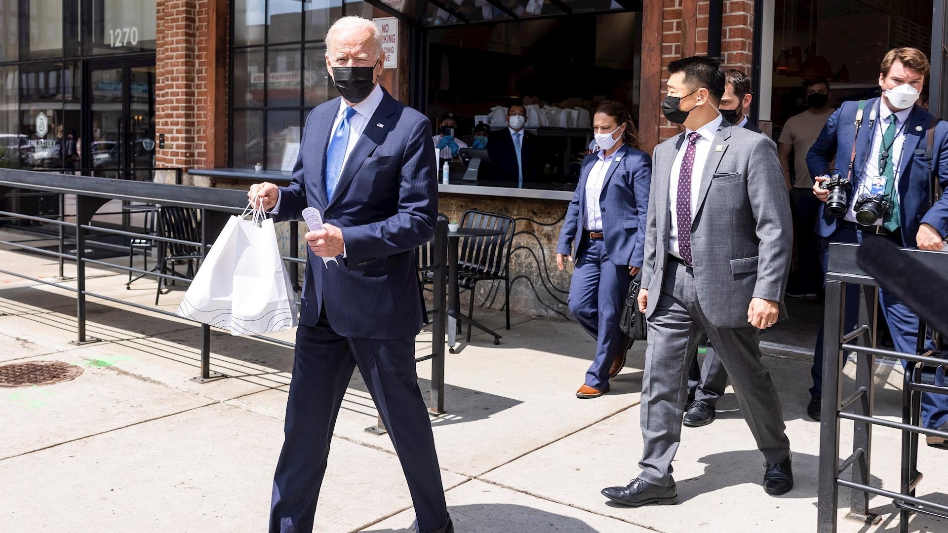 Estados Unidos Joe Biden tacos enchiladas 2