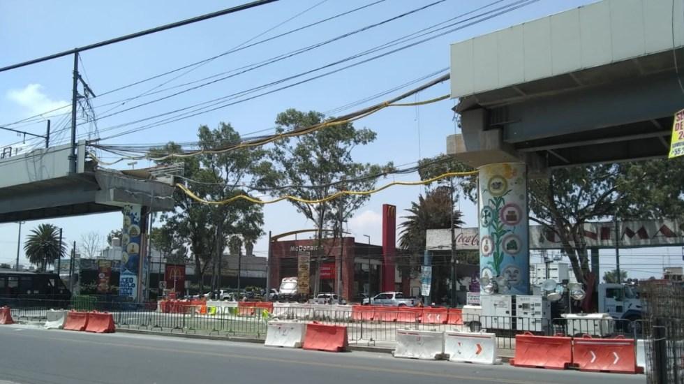 Retiran por completo estructura colapsada en Línea 12 del Metro - Estructura colapsada Metro Línea 12