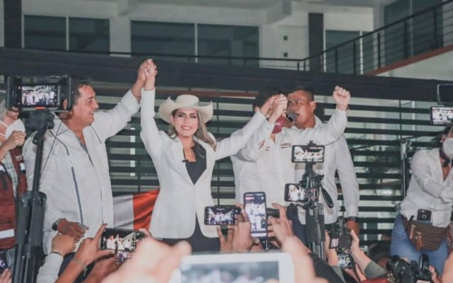 Aprueban candidatura de Evelyn Salgado a la gubernatura de Guerrero - Evelyn Salgado Pineda candidata Guerrero