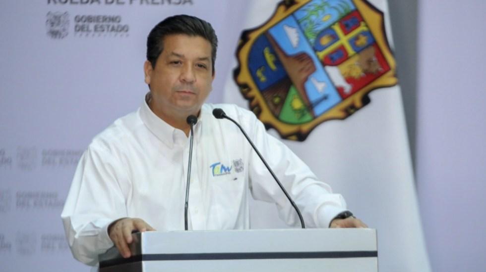 México recibe información de EE.UU. sobre caso de García Cabeza de Vaca - Francisco García Cabeza de Vaca, gobernador de Tamaulipas. Foto de @fgcabezadevaca