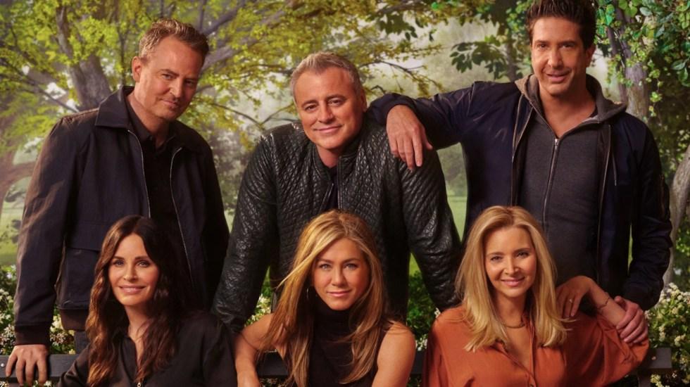 'Friends' publica el primer tráiler del reencuentro de sus protagonistas - Reunión de 'Friends'. Foto de @HBOMaxLA