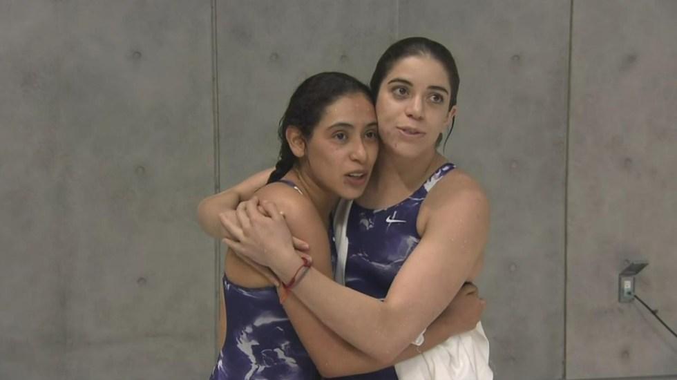 Clavadistas mexicanas clasifican a Juegos Olímpicos de Tokio - Gabriela Agúndez y Alejandra Orozco. Foto de @CONADE