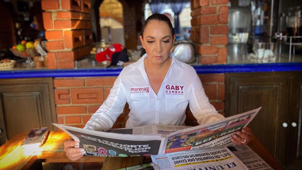 #Video Alcaldesa de Metepec, que busca la reelección por Morena, amenaza a rival - Gabriela Gamboa Morena Metepec
