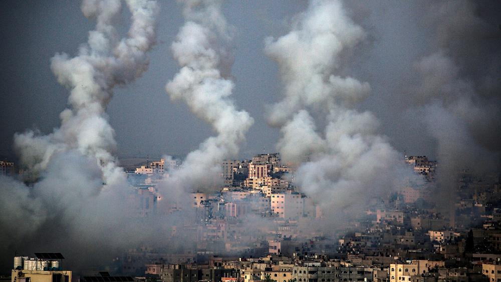 Al menos 20 muertos en Gaza tras pico de violencia entre israelíes y palestinos - Gaza bombardeo Israel Palestina