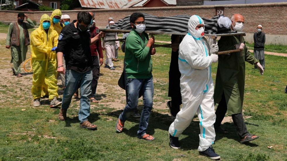 India baja de los 400 mil casos y registra más de 3 mil 700 muertes por COVID-19 - India coronavirus covid19 (1)