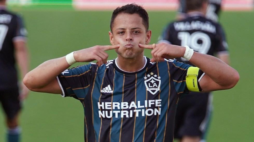 'Chicharito' Hernández vuelve a anotar en triunfo del Galaxy - Javier Chicharito Hernández