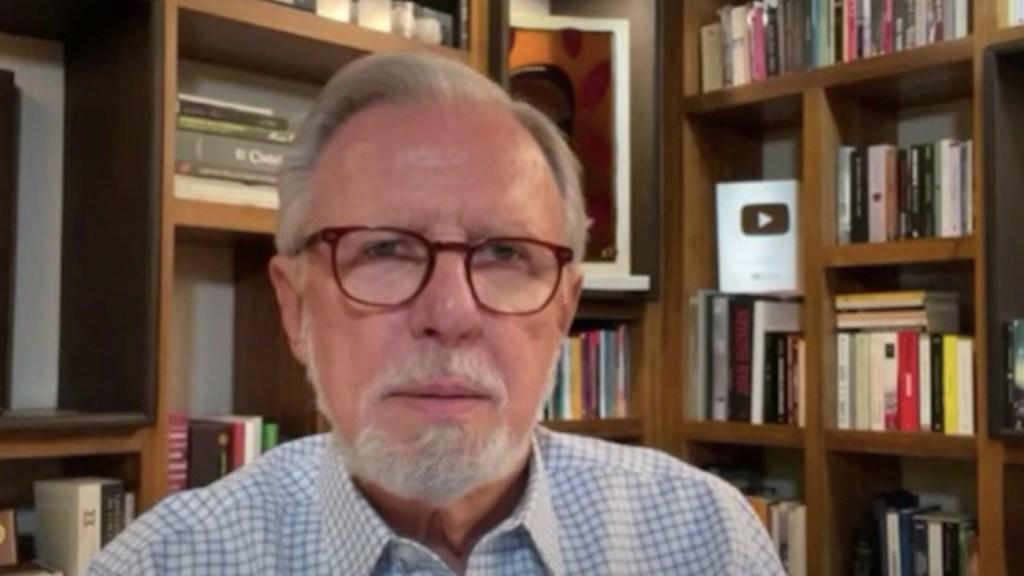 Joaquín López-Dóriga. Foto tomada de video