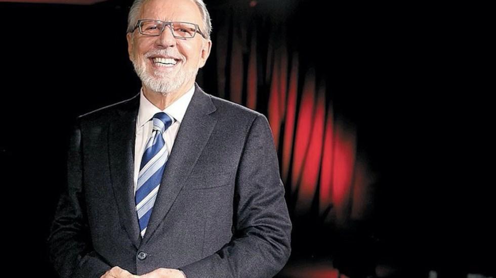 Se consolida López-Dóriga como líder de redes sociales en México - Joaquín López-Dóriga. Foto de archivo