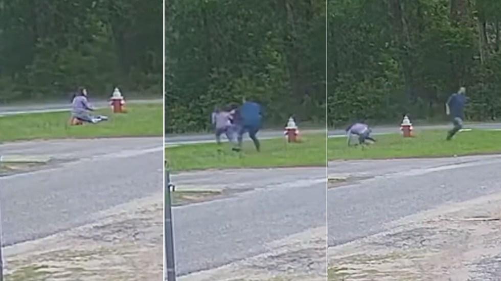 #Video Sujeto intenta secuestrar a niña de 11 años en Florida; ella escapa - Joven 11 años Florida ataque secuestro menor