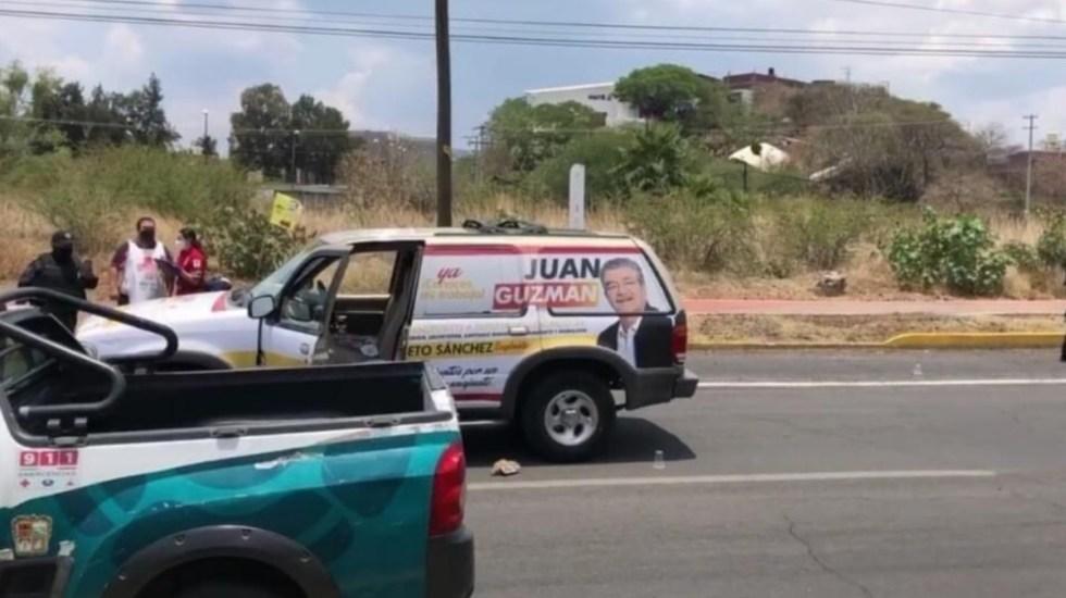 Atacan con disparos a candidato de alianza PRI-PRD en Moroleón, resulta herido - Moroleón Juan Guzmán ataque agresión candidato