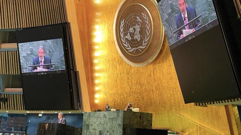 Urge protección a la población civil y respeto al derecho internacional en conflicto entre Israel y Palestina, asegura De la Fuente - El Embajador Juan Ramón de la Fuente. Foto de @MexOnu
