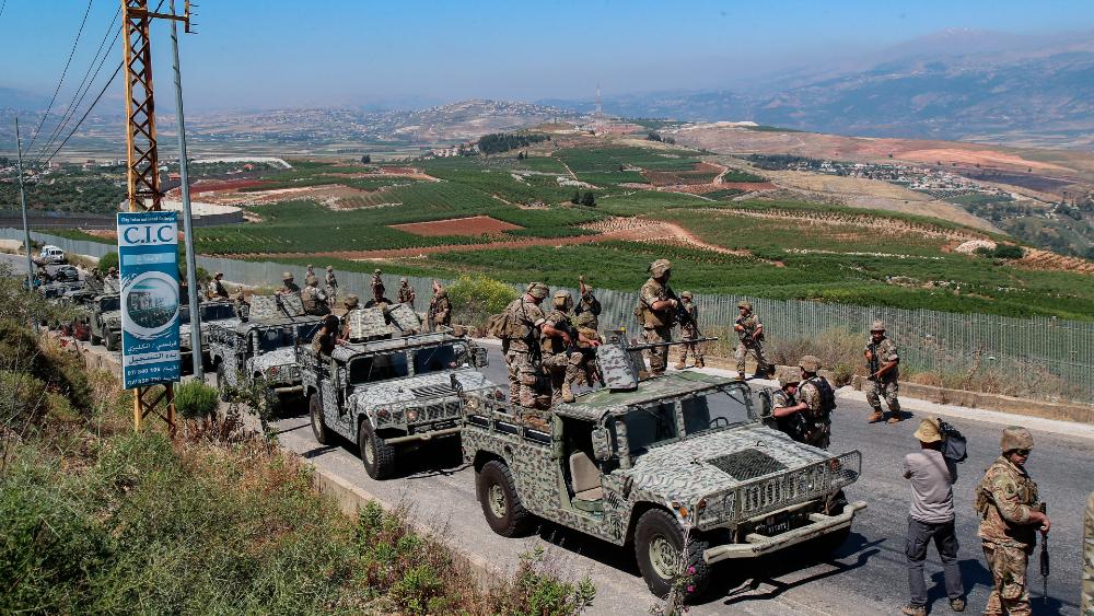 Libano Israel frontera