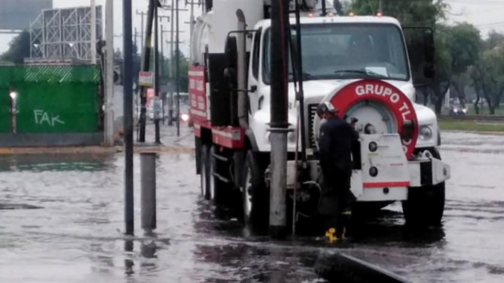Lluvia y granizo provocan afectaciones en el Valle de Toluca - Lluvia Toluca tormenta inundaciones afectaciones