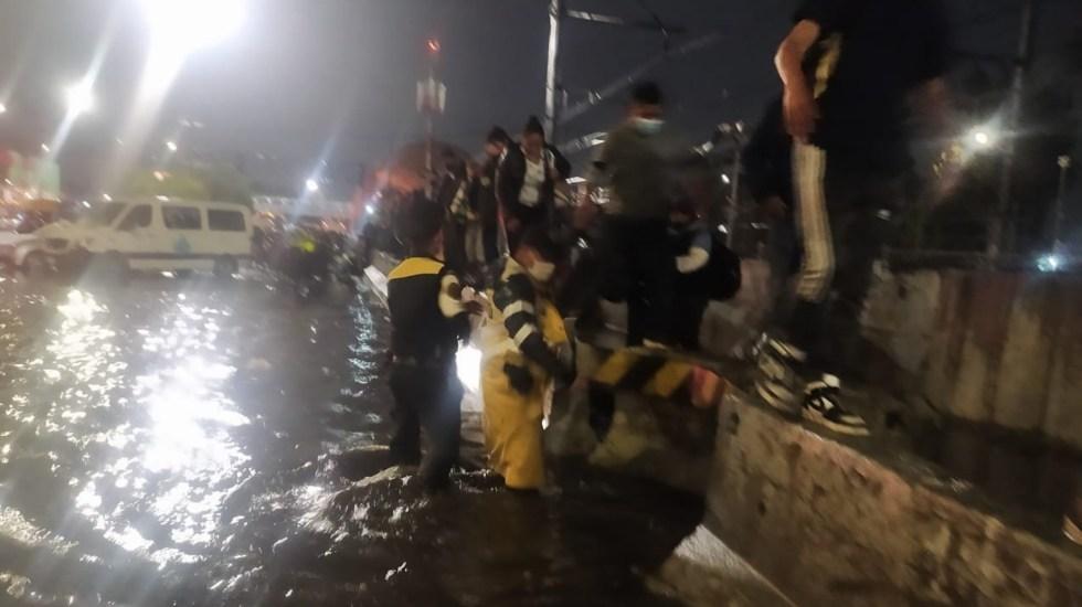 Lluvias provocan afectaciones en la Ciudad de México; Iztapalapa en Alerta Roja - Lluvias inundación Ignacio Zaragoza México Puebla