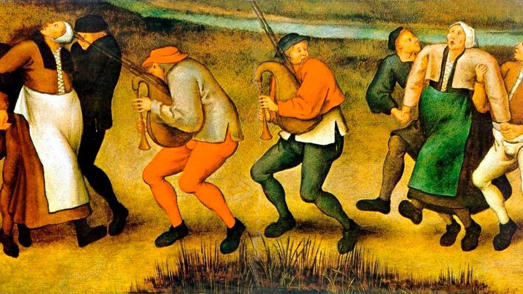Manía Danzante - Manía Danzante / Pieter Breughel the Younger/ Wikimedia.