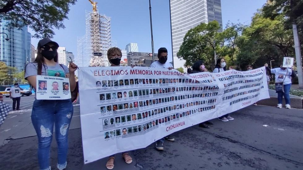 Marchan madres y familiares de personas desaparecidas en la CDMX - marcha madres personas desaparecidas CDMX