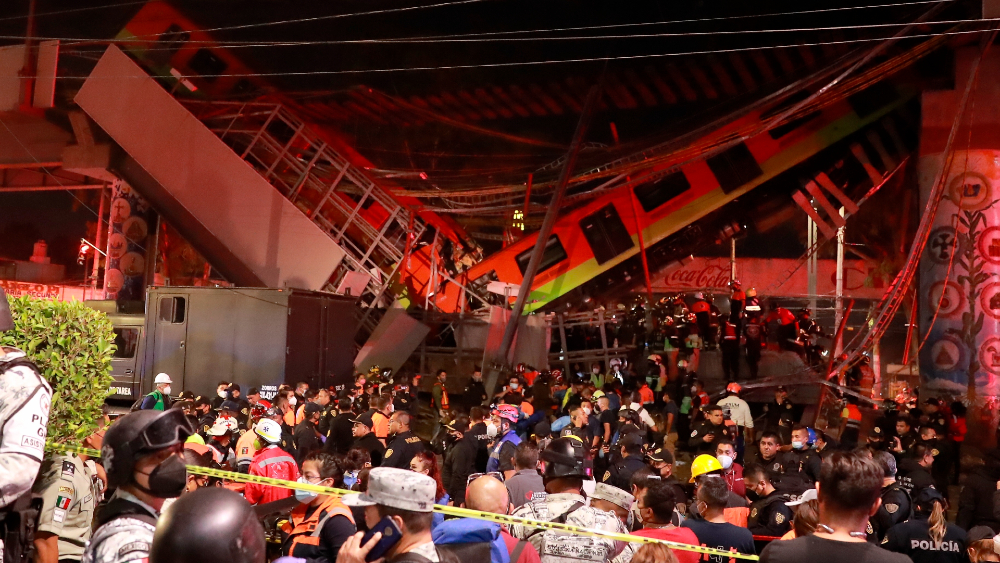 Metro CDMX colapso Linea 12