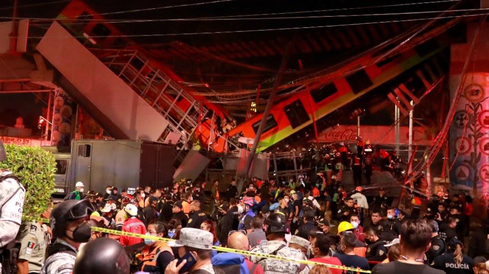 FGJ trabaja en identificar a los 23 muertos por colapso de Línea 12 - Metro CDMX colapso Linea 12
