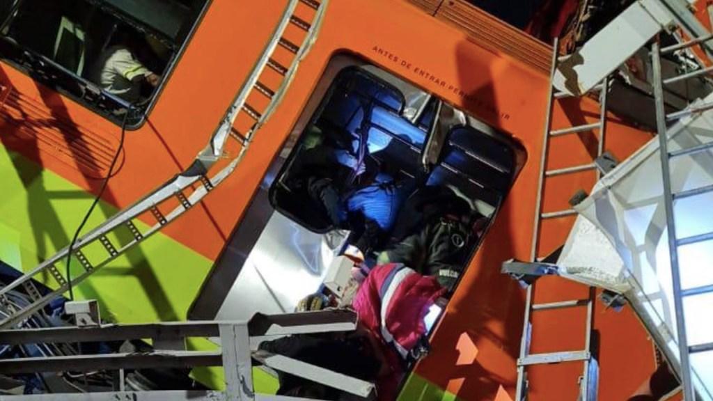 Ebrard asegura que contribuirá en lo que sea necesario tras accidente en la Línea 12 - Foto de @CNPC_MX