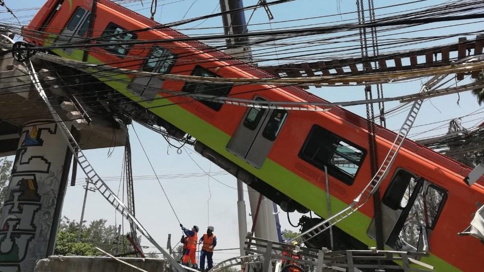 Ingeniería forense determinará las causas del colapso de estructura en Línea 12 del Metro - Ingeniería forense determinará las causas del colapso de estructura en Línea 12 del Metro. Foto de @SGIRPC_CDMX