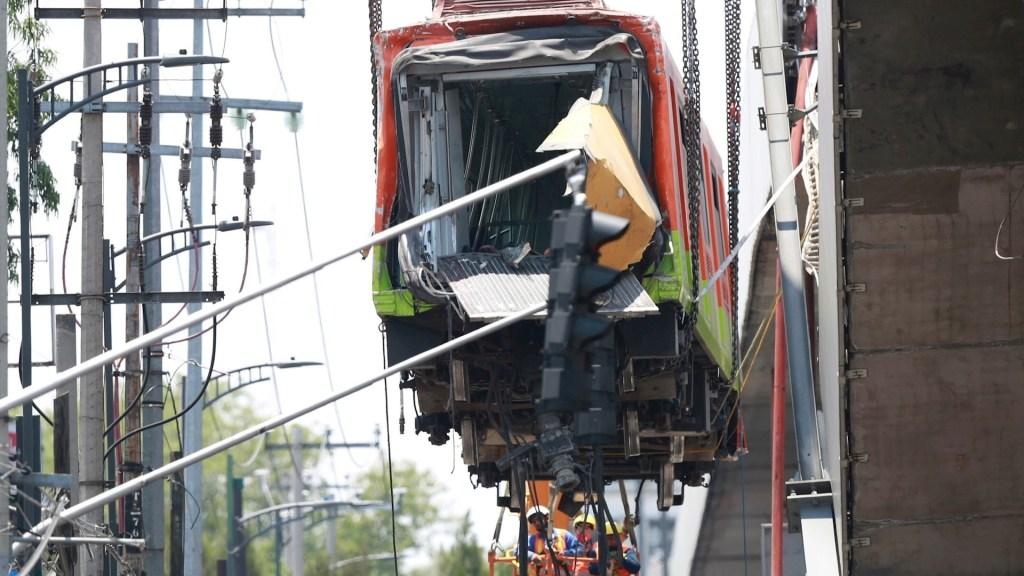 Sheinbaum descalifica al NYT sobre L12 del Metro; Ebrard señala mantenimiento en administración de Mancera - Metro estructura Línea 12 colapso 4