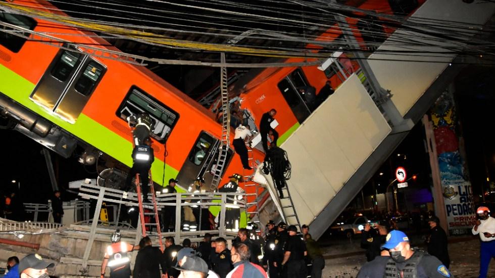 Suman 23 decesos y 79 personas hospitalizadas tras colapso de trabe de la L12 del Metro - Metro Linea 12 desplome