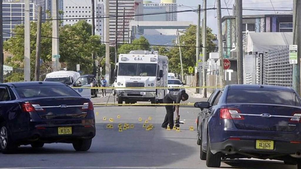Al menos siete heridos en el Memorial Day en Miami - Al menos siete heridos en el arranque del fin de semana del Memorial Day en Miami. Foto de Miami Herald