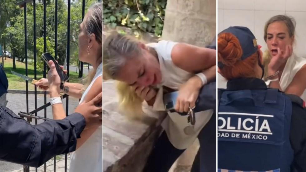 Surge #LadyMiguelHidalgo tras detención; acusa que le quieren quitar su casa - Mujer Miguel Hidalgo detención Ciudad de México LadyMiguelHidalgo