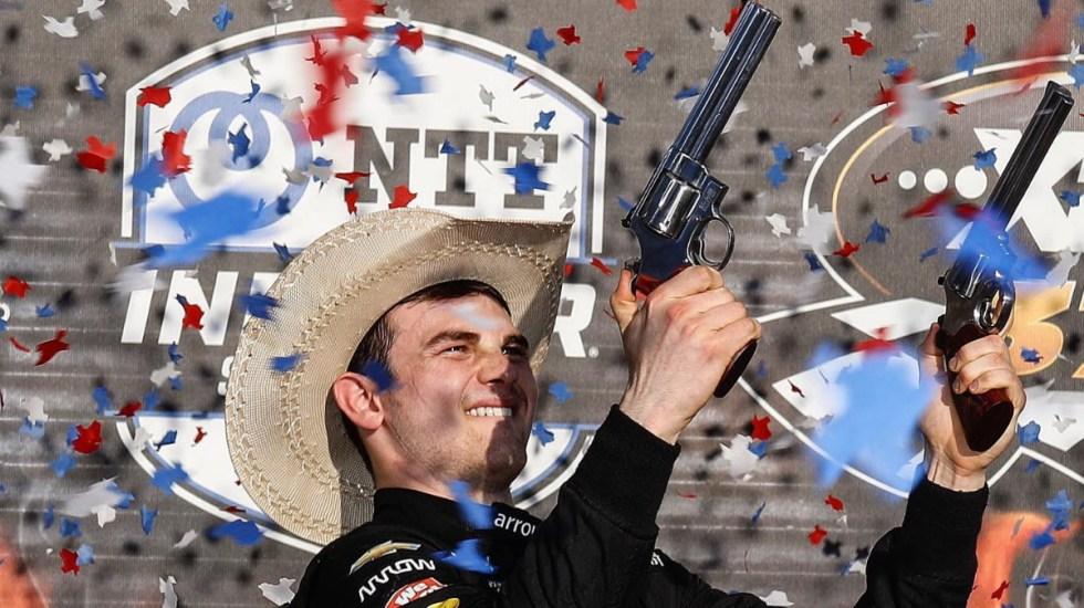 El mexicano Pato O'Ward gana su primera IndyCar en el XPEL 375 Texas - Pato O'Ward