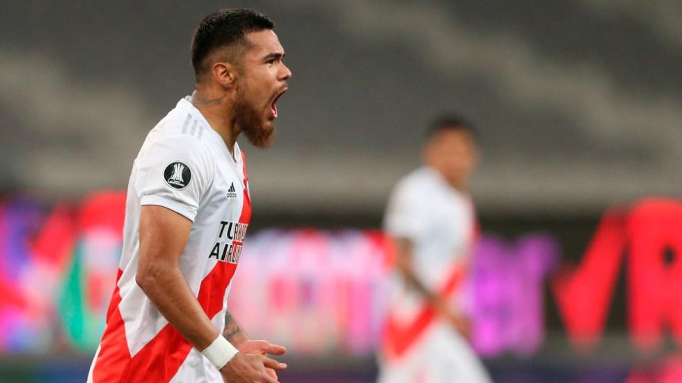 River Plate tiene 10 jugadores con COVID-19 a un día del superclásico - Paulo Díaz River Plate