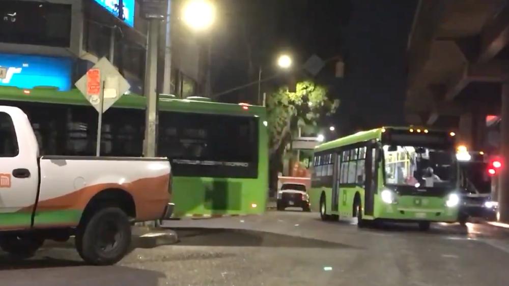 Apoyan con 490 autobuses RTP a Línea 12 del Metro - autobuses RTP Metro Linea 12