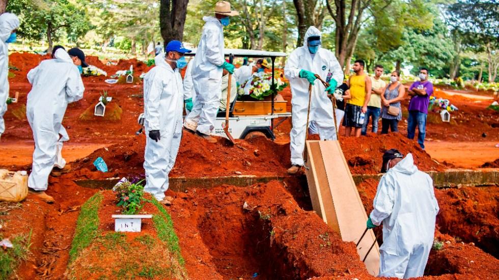 Estado de Sao Paulo supera las 100 mil muertes por COVID-19 - Sao Paulo Brasil covid19 coronavirus muertes