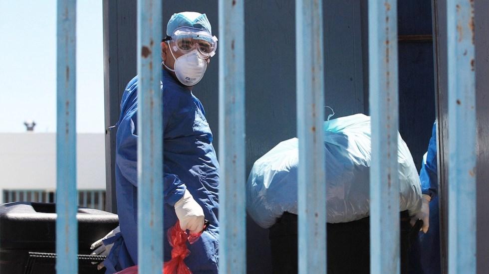 México registró en las últimas 24 horas 4 mil 233 casos y 261 muertes por COVID-19 - Situación sobre el COVID-19 en México. Foto de EFE