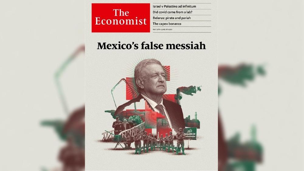 """""""Majadera y mentirosa"""" portada de The Economist: AMLO - The Economist AMLO López Obrador"""