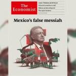 """""""Majadera y mentirosa"""" portada de The Economist: AMLO"""