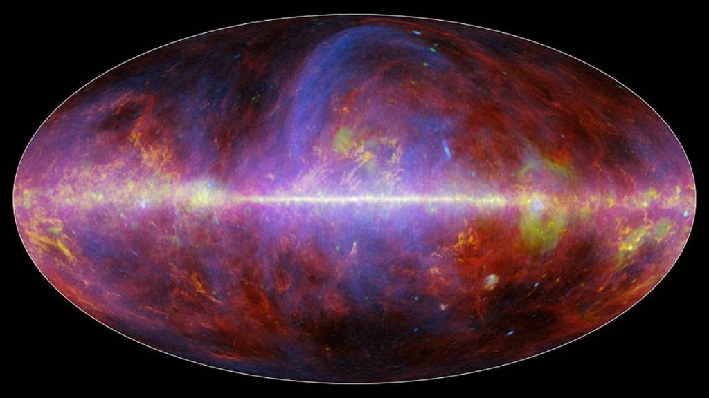 La Vía Láctea no nació del choque con otra sino por evolución gradual, afirma estudio - Vía Láctea. Foto de NASA