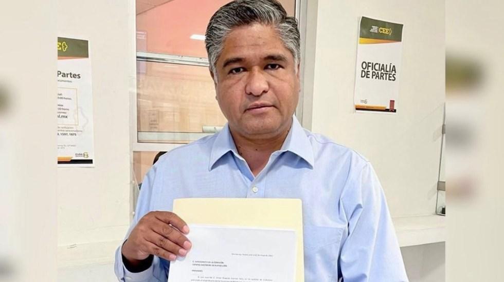 Víctor Fuentes Solís renuncia a candidatura a alcaldía de Monterrey - Foto de Telediario Monterrey