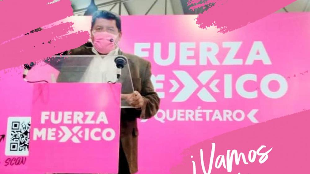 Murió candidato de Fuerza por México en Querétaro - Abraham Márquez Barrón Fuerza por México Querétaro
