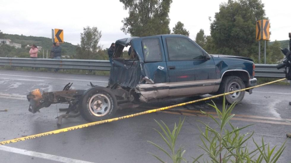 Siete muertos en accidente carretero en límites de Querétaro y Guanajuato - accidente carretero Querétaro Guanajuato