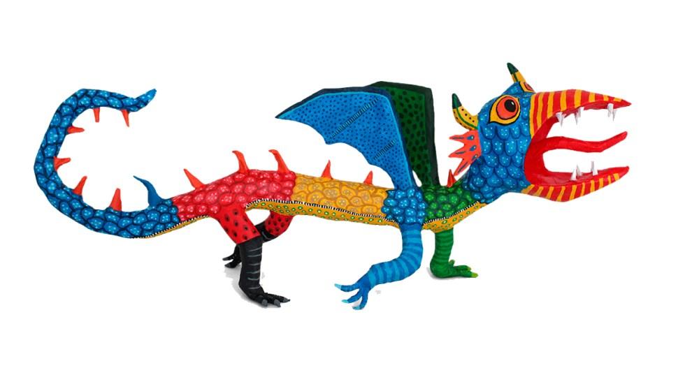 Alebrijes del artista mexicano Pedro Linares dan color al buscador de Google - Alebrije como doodle de Google. Foto de Google