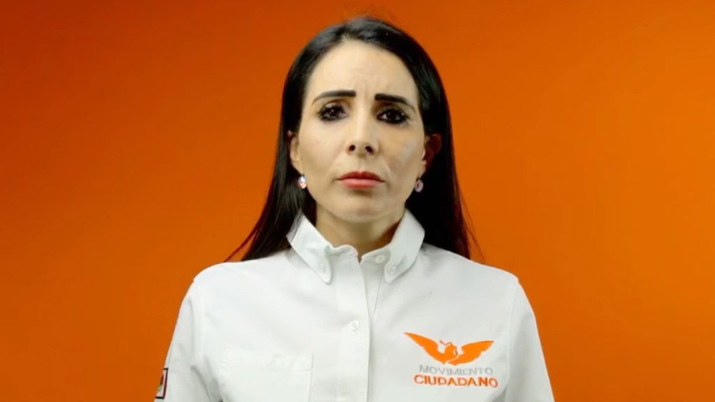 Hija de la candidata asesinada Alma Rosa Barragán gana Moroleón, Guanajuato - Alma Denisse Sánchez, hija de la candidata asesinada Alma Rosa Barragán. Captura de pantalla