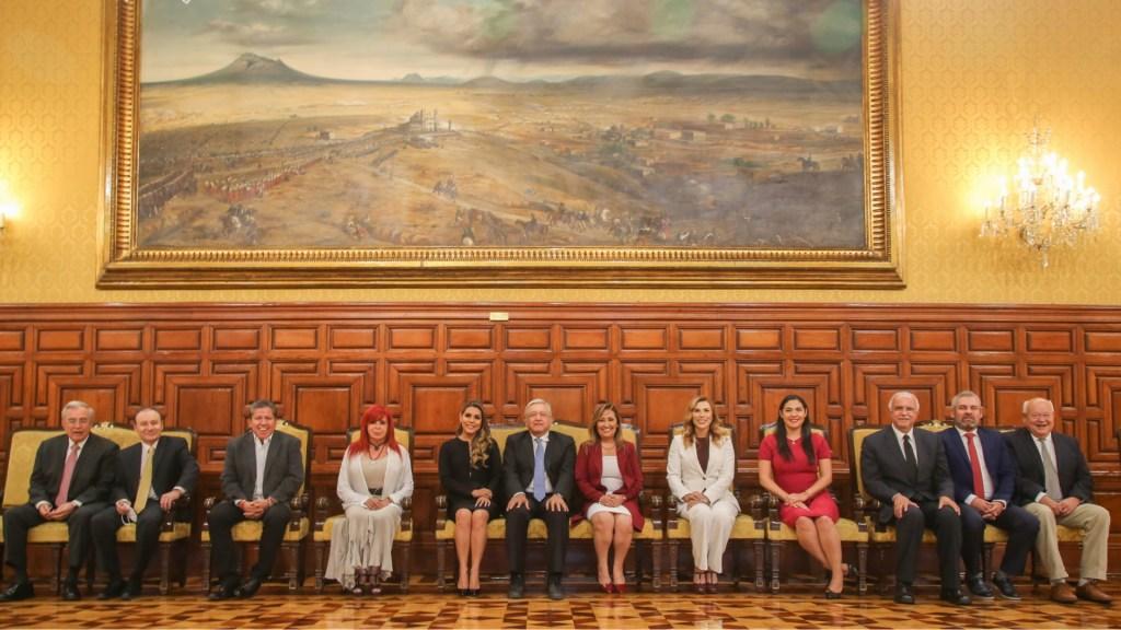 AMLO Andrés Manuel López Obrador reunión gobernadores 2