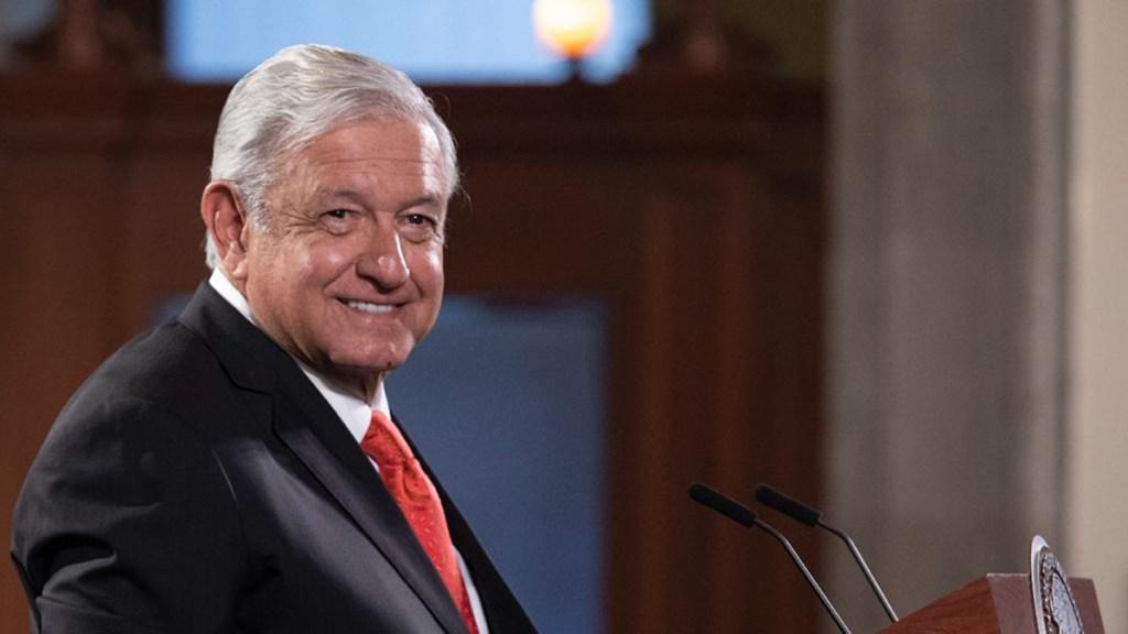 López Obrador maneja un 'mesianismo' incompatible con la democracia: Die Welt - AMLO en conferencia matutina. Foto de Gobierno de México