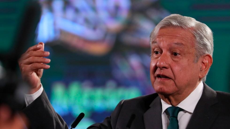 """López Obrador acusa """"fascismo"""" en """"guerra sucia"""" por parte de sus adversarios - AMLO Lopez Obrador conferencia fascismo"""