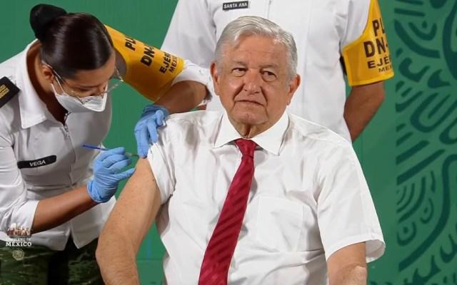López Obrador recibe esquema completo de vacunación contra COVID-19 - AMLO vacuna López Obrador esquema completo