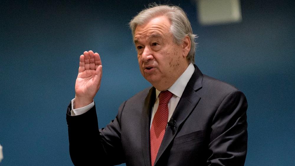 México felicita a Guterres por su reelección al frente de la ONU - António Guterres ONU