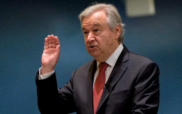 El trabajo político más difícil, por Juan Ramón de la Fuente - António Guterres ONU